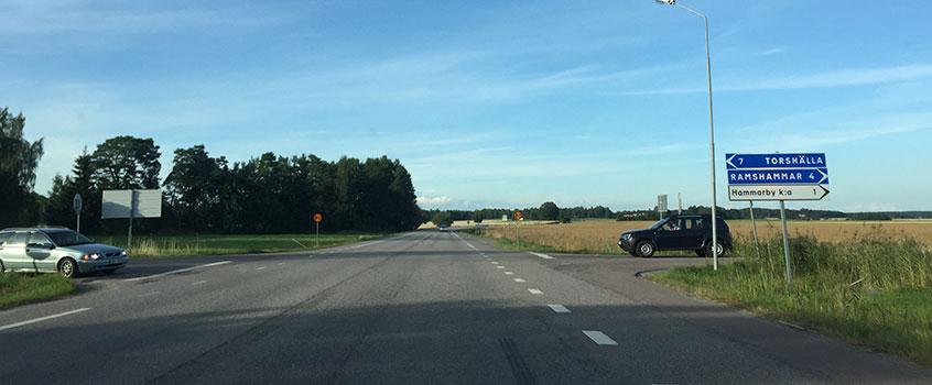 Landsvägskörning